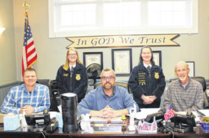 Commissioners hear from FFA officers