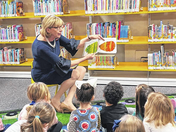 First Lady Fran DeWine visited three Southeast Ohio counties— Pike, Scioto, and Jackson— to celebrate the Ohio Governor's Imagination Library Program.