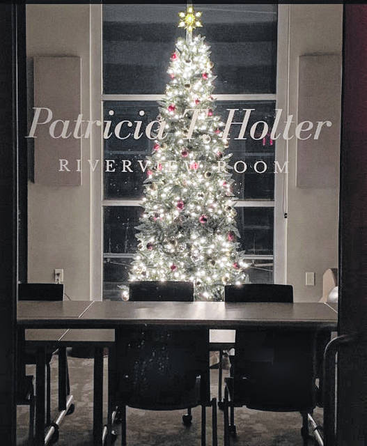 """The Riverview Room at the Meigs County District Public Library in Pomeroy has been named in memory of longtime library Board of Trustees member Patricia """"Pat"""" Holter."""