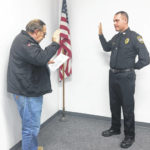 Pitchford sworn in as Pomeroy Chief