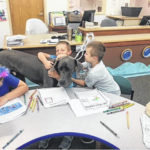 Canine provides support, comfort for students