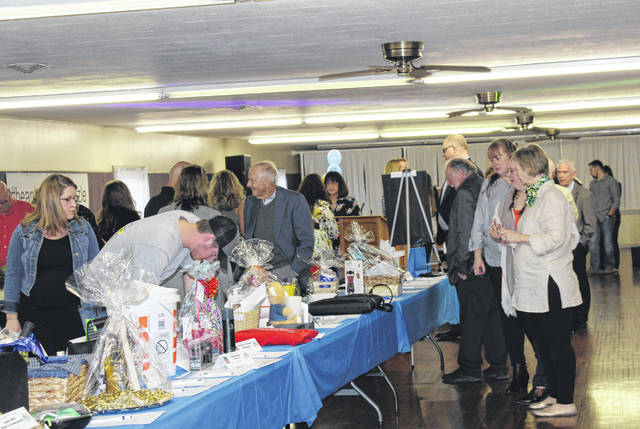 Dozens of auction items will be available during the annual Meigs County Chamber and Tourism spring dinner and auction.