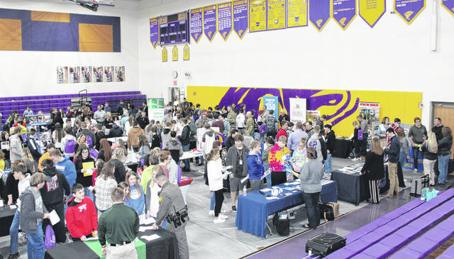 Members of the business community, apprenticeship programs, technical schools, colleges and universities and many others were on hand for the 3rd annual Career Palooza at Southern Local Schools on Friday.