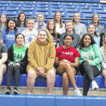 2020 Gallia Academy girls track and field team