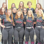 2020 Meigs softball team