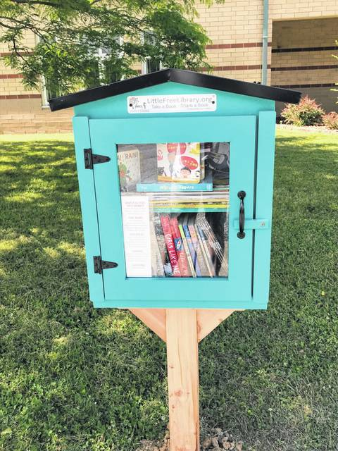 The Little Free Library is now available at the Meigs Primary School.