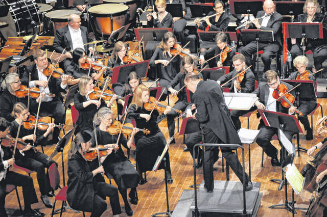 A previous performance by the Ohio Valley Symphony at the Ariel Opera House. (OVP File Photo)