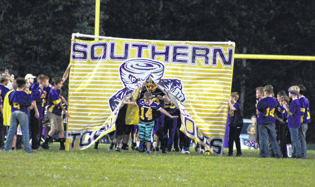 The Southern football team takes to the field in 2019. The district is planning for the 2020-21 school year and the fall sports season.