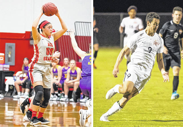 Sydney Holden and Nicolas Cam Orellana were named the 2019-20 Athletes of the Year.