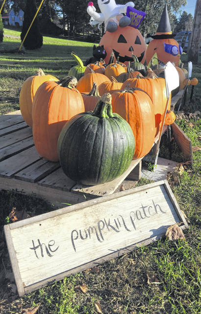 Chad and Kati's Produce Stand in Racine, Ohio, offers fresh vegetables in the summer and pumpkins and other items in the fall.