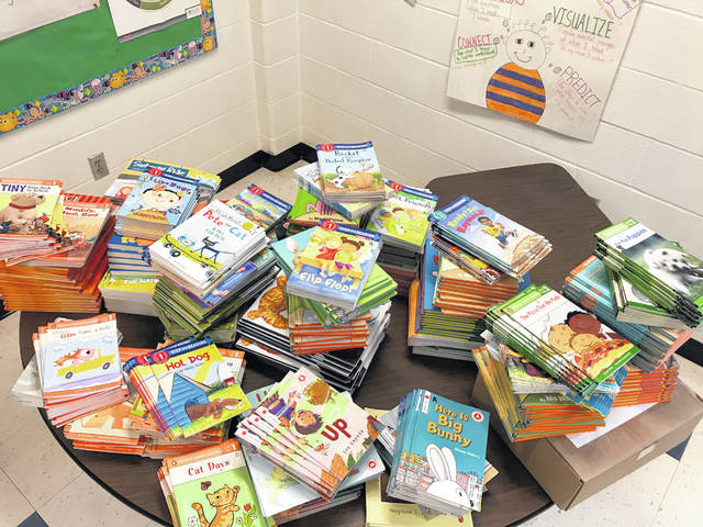 Meigs Primary School received $4,000 for the purchase of over 1,300 books from a grant.