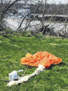 Finding a weather balloon