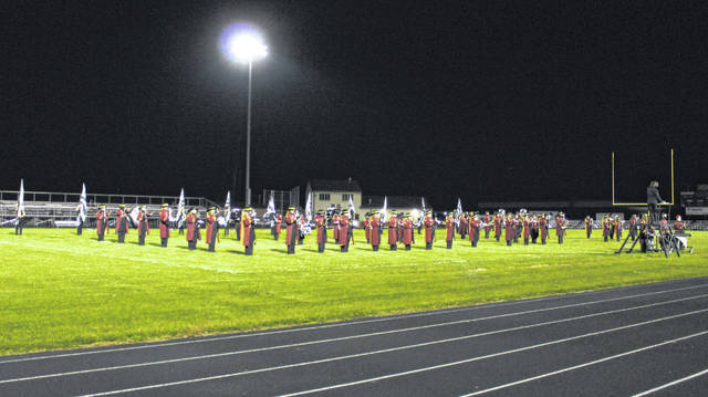 The Meigs Marching Band hosted its first showcase event on Thursday evening.