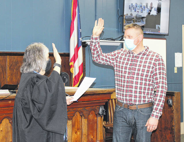 Commissioner Jimmy Will was recently sworn in for his first full term in office by Judge Linda Warner. Will was appointed to serve as Meigs County Commissioner in 2019 to fill the seat vacated by Mike Bartrum. Will was then elected to the seat in the 2020 election cycle.