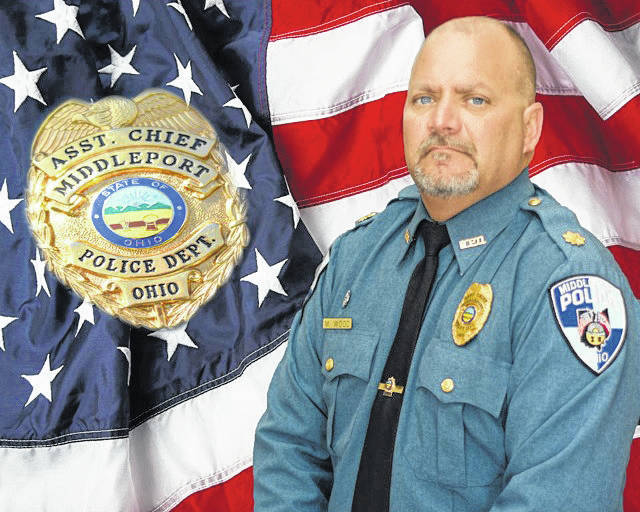 Mony Wood, pictured, was named Chief of the Middleport Police Department.
