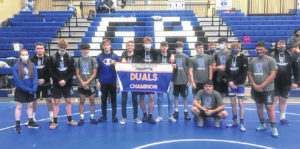 Blue Devils win dual with Westfall