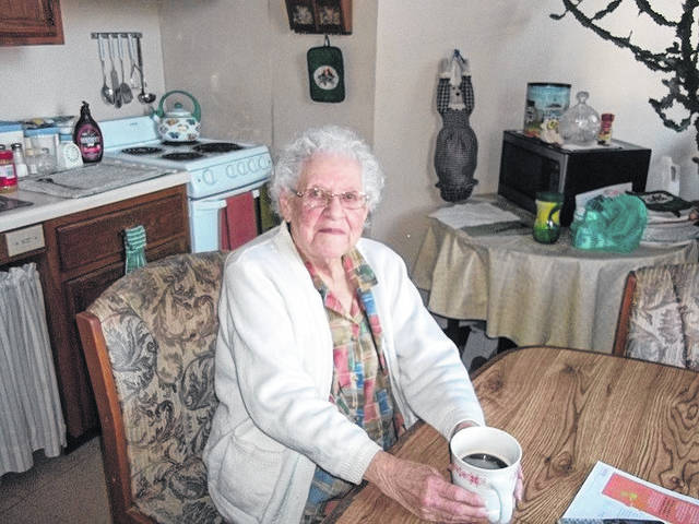 Cordelia Bentz, formerly a resident at The Maples, will celebrate her 101st birthday on Jan. 29. Cards can be sent to her at 36759 Rocksprings Road, Pomeroy, Ohio 45769.