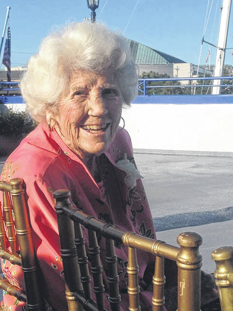 """During her liftime, the late Roberta """"Bobbie"""" Holzer served the community as a wife, mother, grandmother, supporter of the arts and healthcare in southeast Ohio. She was born and raised in Point Pleasant, W.Va. (Amy Irvin 