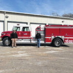 Olive Twp. FD receive fire truck from ODNR