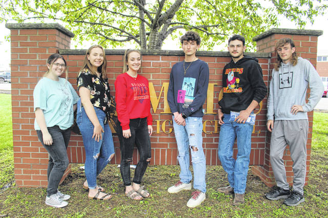 Royalty candidates have been announced for the 2021 Meigs High School Prom. Meigs High School will hold it's 2021 Prom this Saturday at the school. Queen candidates are Marissa Allen, Sydney Jones, Valerie Darnell and Annika McKinney. King candidates are Brody Hawley, Will Sargent, Blake Pitchford and Jacob Buckley. There will not be the traditional prom walk-in open to the public, but the arrivals will be livestreamed, with information on this posted to the Meigs Local School District Facebook page before the event. Pictured are (left to right) Marissa Allen, Sydney Jones, Valerie Darnell, Brody Hawley, Will Sargent, Blake Pitchford; Absent: Annika McKinney and Jacob Buckley.