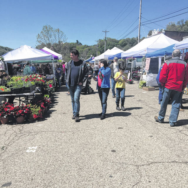 The Meigs County Farmers' Market opened for the season this past Saturday.