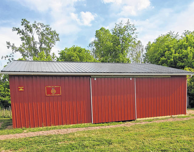 The newly constructed Wondle Ray Dinguss Animal Science Building is located behind Meigs High School.