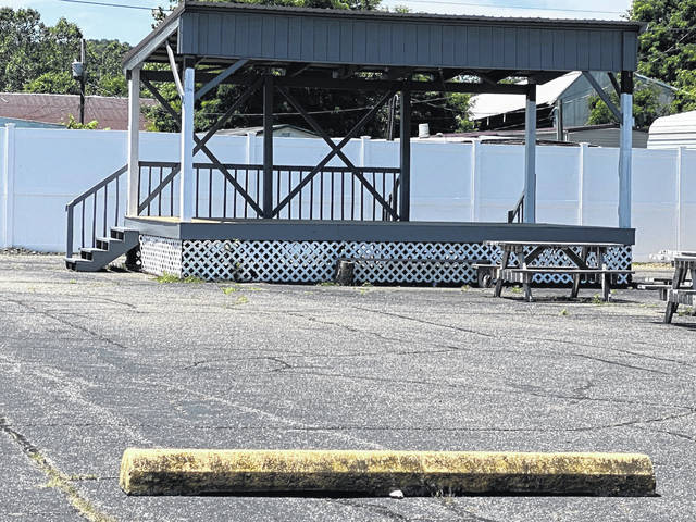 A warrant has been issued for a Meigs County man in connection with an alleged intentional hit-and-run which reportedly happened on June 17 in Mason, W.Va. near the stage area at the Stewart-Johnson V.F.W./Lottie Jenks Memorial Park, pictured here.