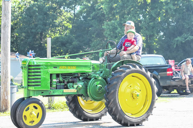 Tractors and numerous other vehicles will be part of the Fourth of July parade in Racine.