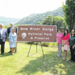 New signage for New River Gorge National Park and Preserve