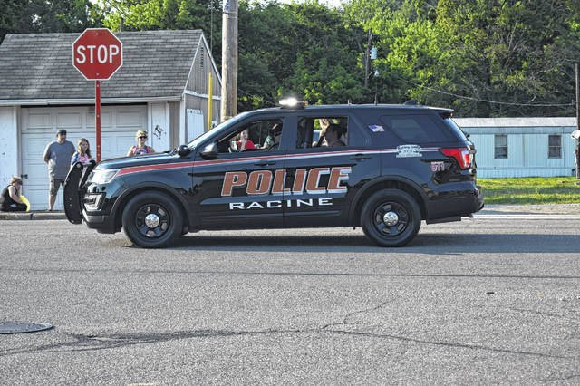 Racine's 4th of July Parade was led by the Racine Police Department.
