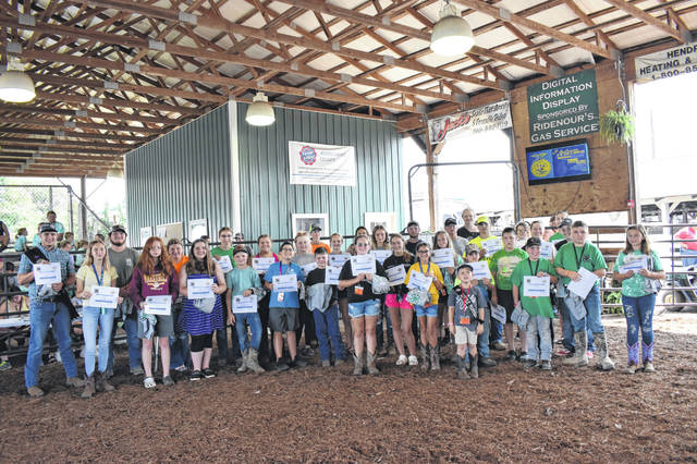 Pictured are Extra Effort 4-H Members.