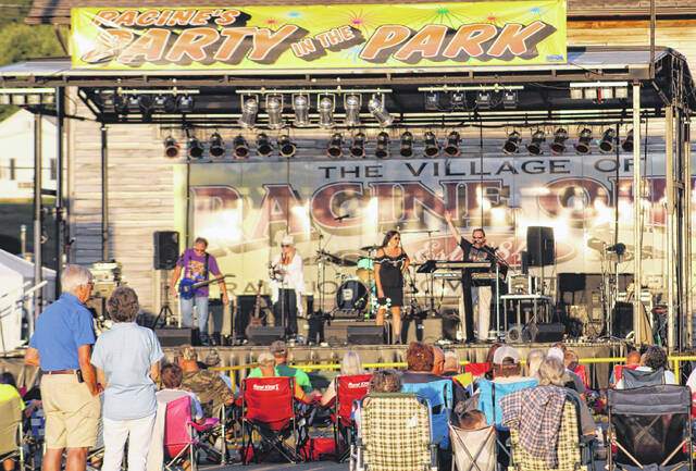 """Racine's Party in the Park returns today with """"Bluegrass Night"""" and continues through Saturday with more musical entertainment and family-friendly events."""