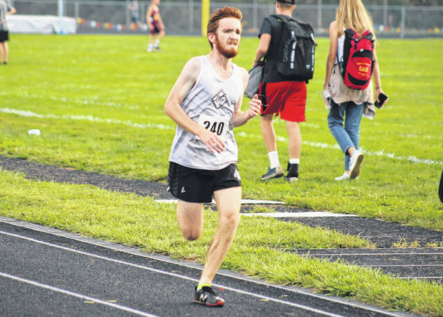 River Valley senior Cody Wooten finished 13th overall in the boys race of the Federal Hocking Invitational Wednesday afternoon in Stewart, Ohio.