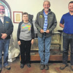 Pioneer and Historical Society hosts, updates Commissioners