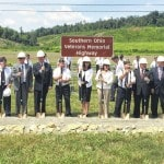 Ground broken for new highway