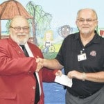 Elks donate to Vern Riffe School