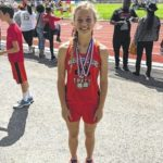 'Burg's Jolly excels in MS track meet