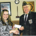 Burchett awarded Post 363 scholarship
