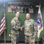 Local recruiter earns medal