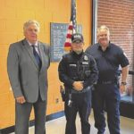 Officers receive letters of Commendation