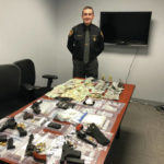 Three arrested in Franklin Furnace after suspected drugs, firearms, and cash seized