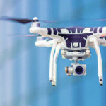 Drone raises concern at courthouse