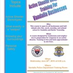 Vandalia Police offer free active shooter training