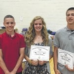 Morton students earn end of year honors