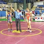 Butler's King to wrestle at Nationals