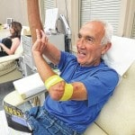 Vandalia's Lurz makes 100th blood donation