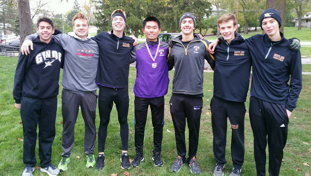 Butler's Long Lin qualified for the State Cross Country meet by virtue of a 9th place finish at the Troy Regional Cross Country Meet on Saturday with a time of 16:20.. The Butler boys team finished 14th overall to conclude their season. Lin will compete in the State meet next Saturday, Nov. 4 at 3 p.m. at National Trail Raceway in Hebron.