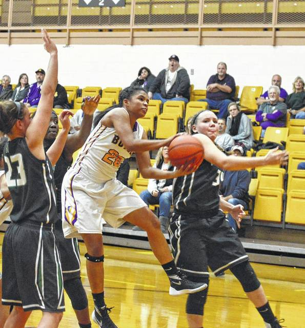 Tyree Fletcher was one of three Lady Aviators to score in double digits a year ago.