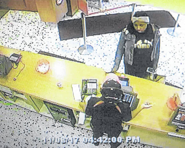 The Butler Township Police are seeking the public's help in identifying a suspect who is alleged to be involved in passing two counterfeit bills at the Frisch's Restaurant on Benchwood Road on November 9.