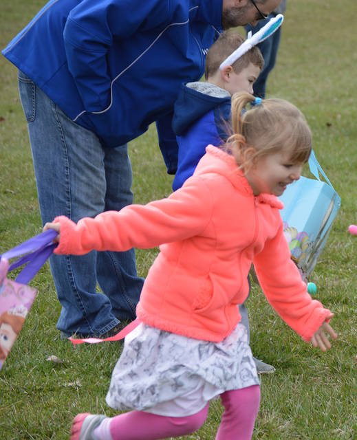 Photos from the Vandalia Community Easter Egg Hunt held on Saturday, March 31, 2018 at the Vandalia Sports Complex.
